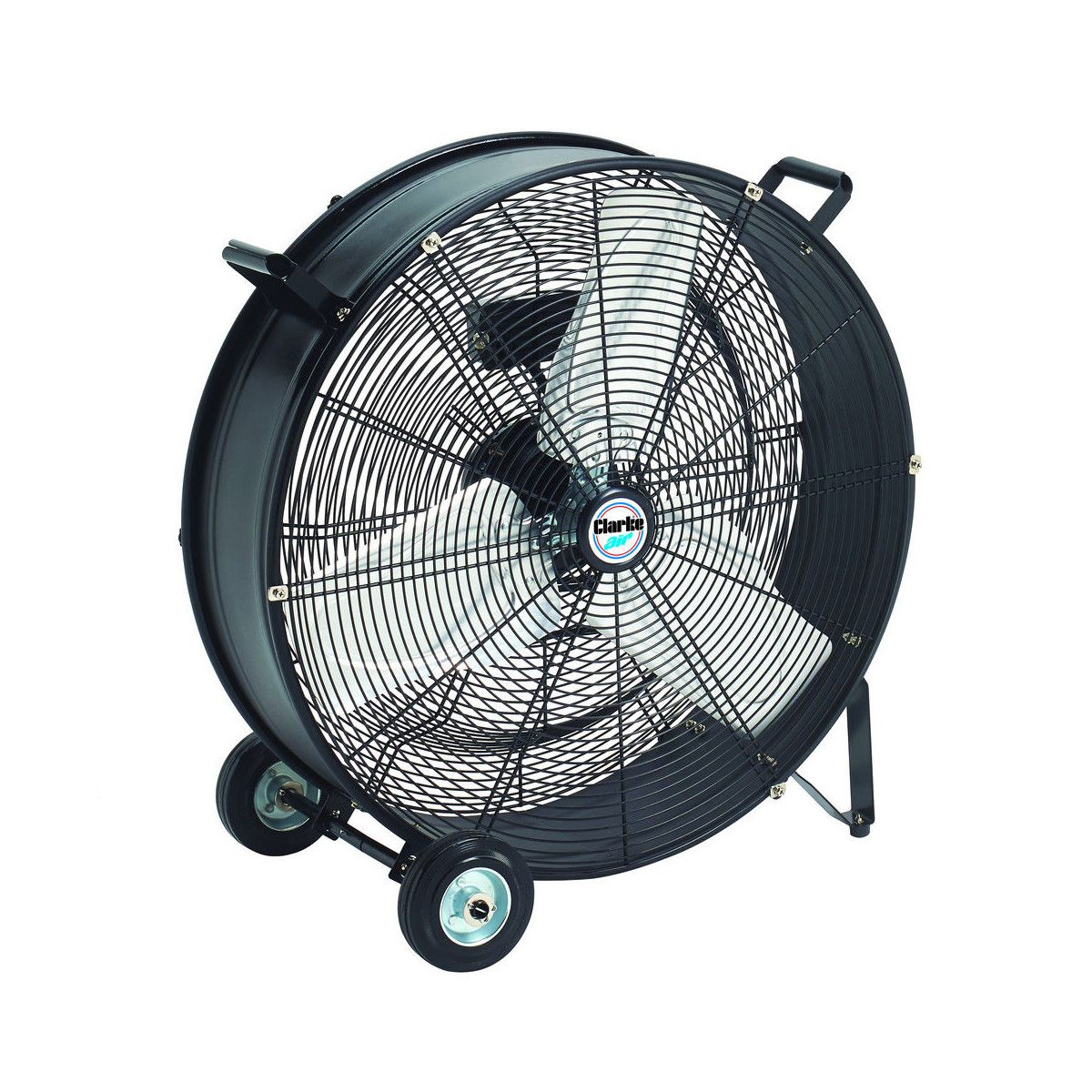 Portable Drum Fan : Clarke cam robust portable electric drum fan cfm