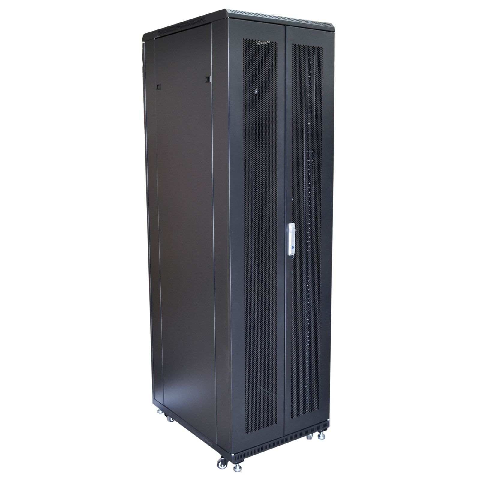 Eagle 42u Network Data Rack Cabinet With Glass Door