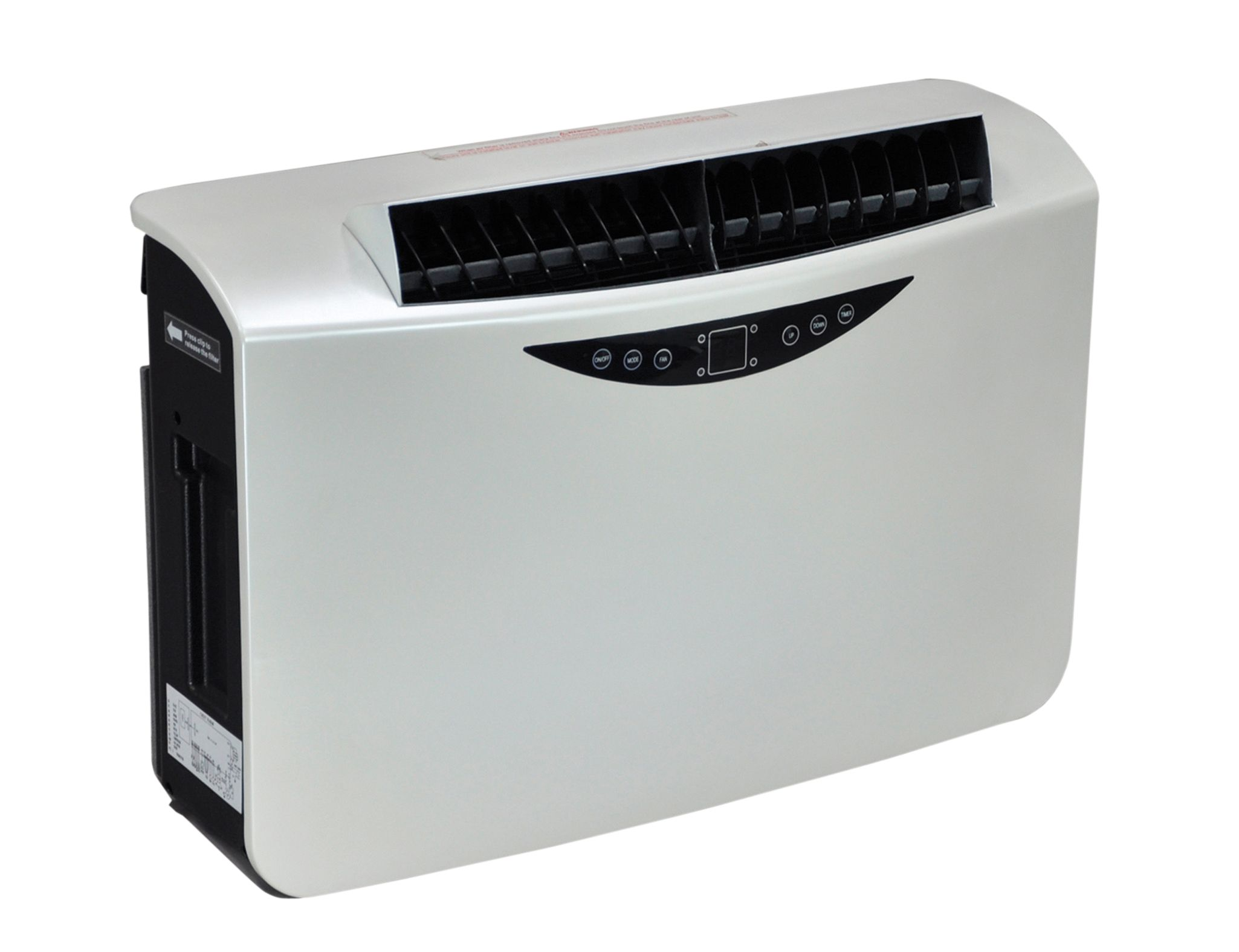 electrovision 10000 btu wall mounted air conditioner with