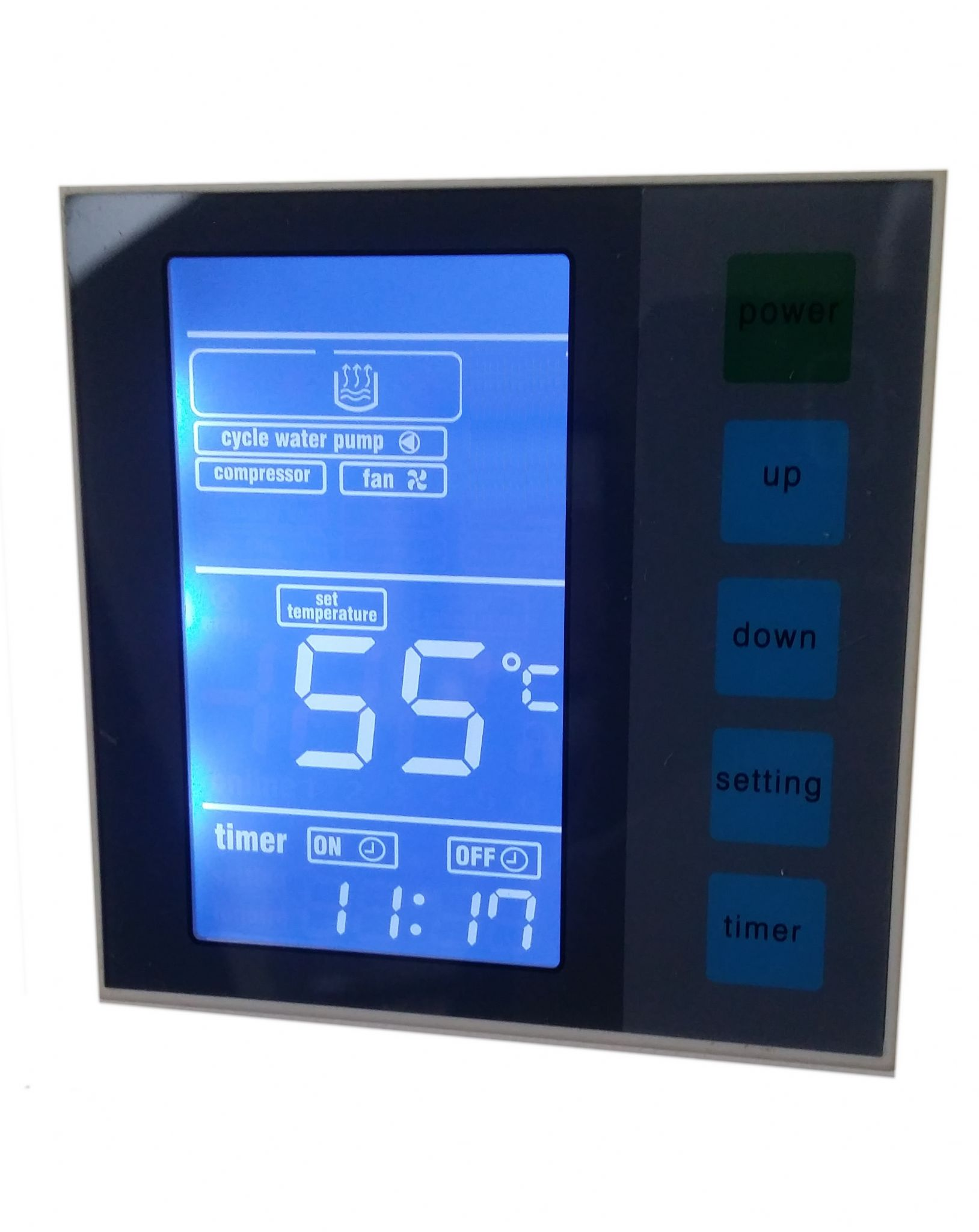 Enviro Tex EV23000s Swimming Pool Air Source Heat Pump 23kW 78000 BTU  #06BBC5