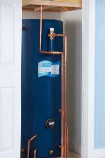 Gledhill Torrent T130 Vented Mains Pressure Lagged Copper