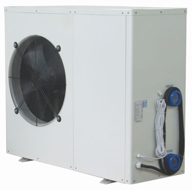 Kfr Thp17 Swimming Pool Air Source Heat Pump Water Heater 17 Kw 58000 Btu 240v 50hz