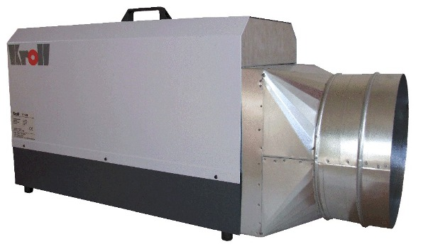 Kroll E18 3 Phase Industrial Electric Heater With Optional