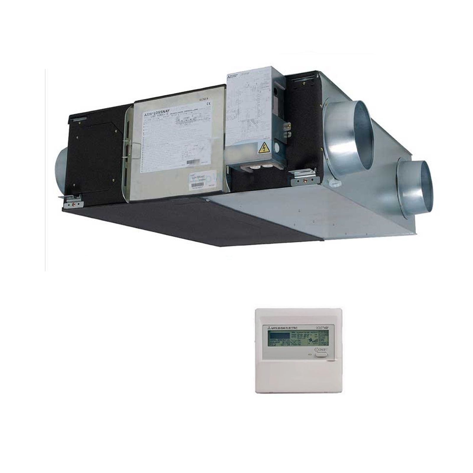 Mitsubishi Electric Air Conditioning LGH-25RX5-E Lossnay Ducted Heat Recovery System 250M3/hr 240V~50Hz