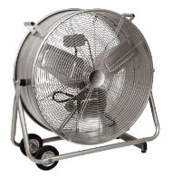 "Prem-i-Air DF36S 36"" Drum Fan With Wheels And Grip Handles 240V~50Hz"