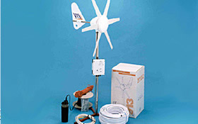 Rutland 913 Wind Powered Water Pump Complete Installation Kit
