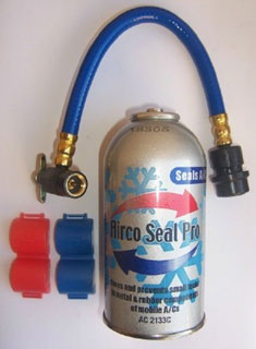 "Airco seal pro"" leak seal automotive"