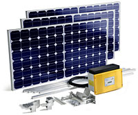 10 Panel Trina Solar Panel Kit 2750W With Solis MINI 2.5kW Solar Inverter Grid Connect Installation Kit 500NCSK