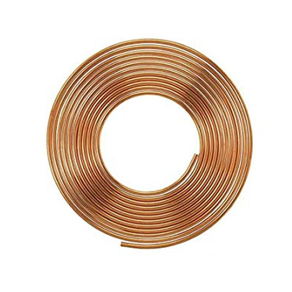 15 Meter Refrigeration / Air Conditioning 22G Copper Coil 1/4""
