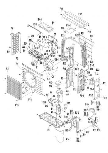 daikin air conditioning pcb spare parts