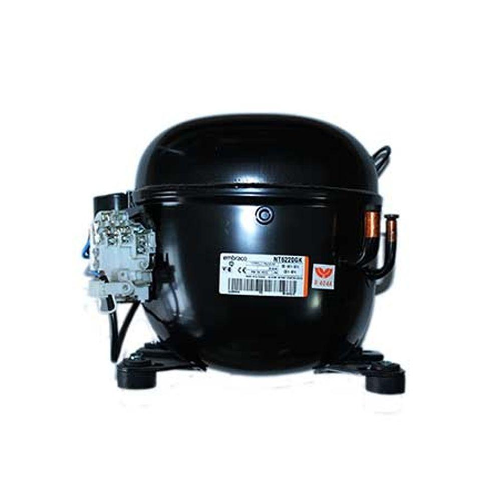 Aspera / Embraco NT6220GK Refrigeration Compressor R404a MHBP 17 4CC 3/4Hp  Tube 240V~50Hz