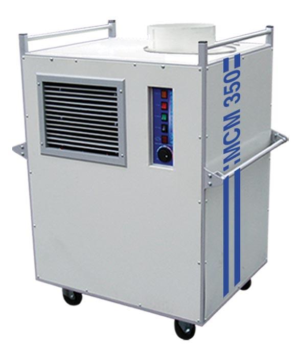 Industrial air handlers : Broughton mcm kw btu industrial portable air