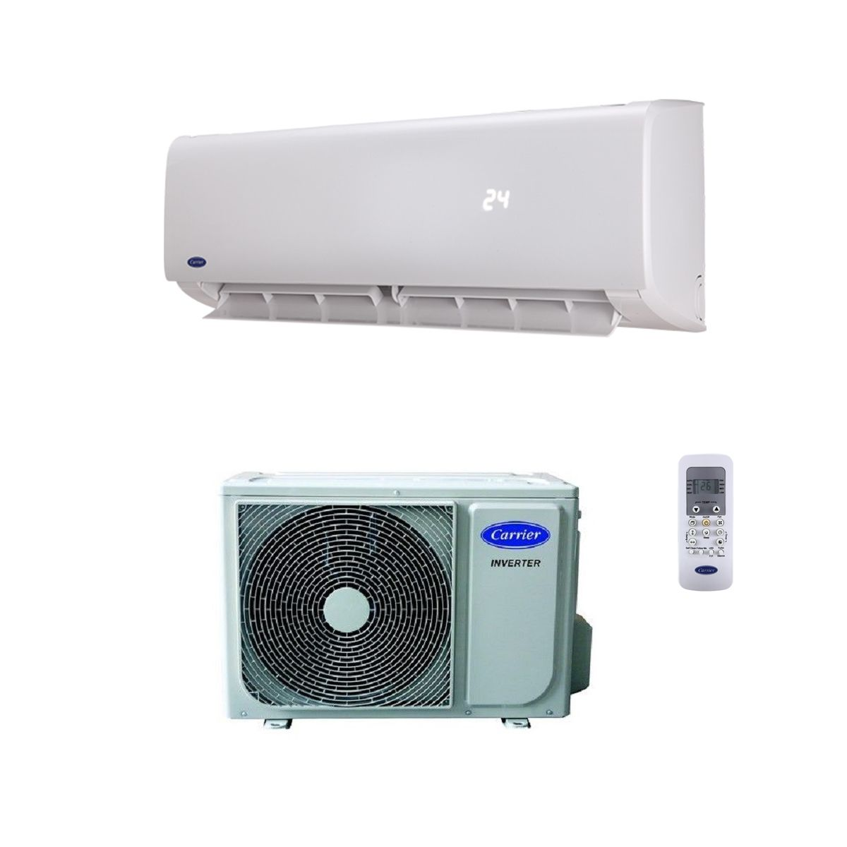 carrier air conditioning. carrier air conditioning wall mounted 42qhc012ds (3.5kw / 12000btu) heating and cooling with remote control 240v~50hz/60hz