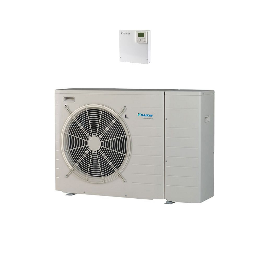 Daikin Ebhq008bbv3 Air To Water Heat Pump Monobloc Systems