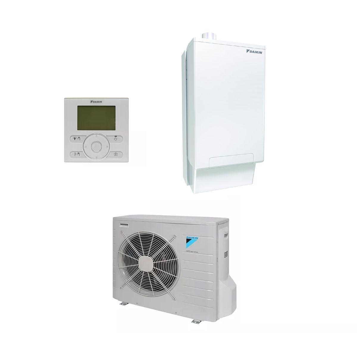 Daikin EVLQ-CV3 Hybrid Heat-Pump Boiler System Installation Kit 240V ...