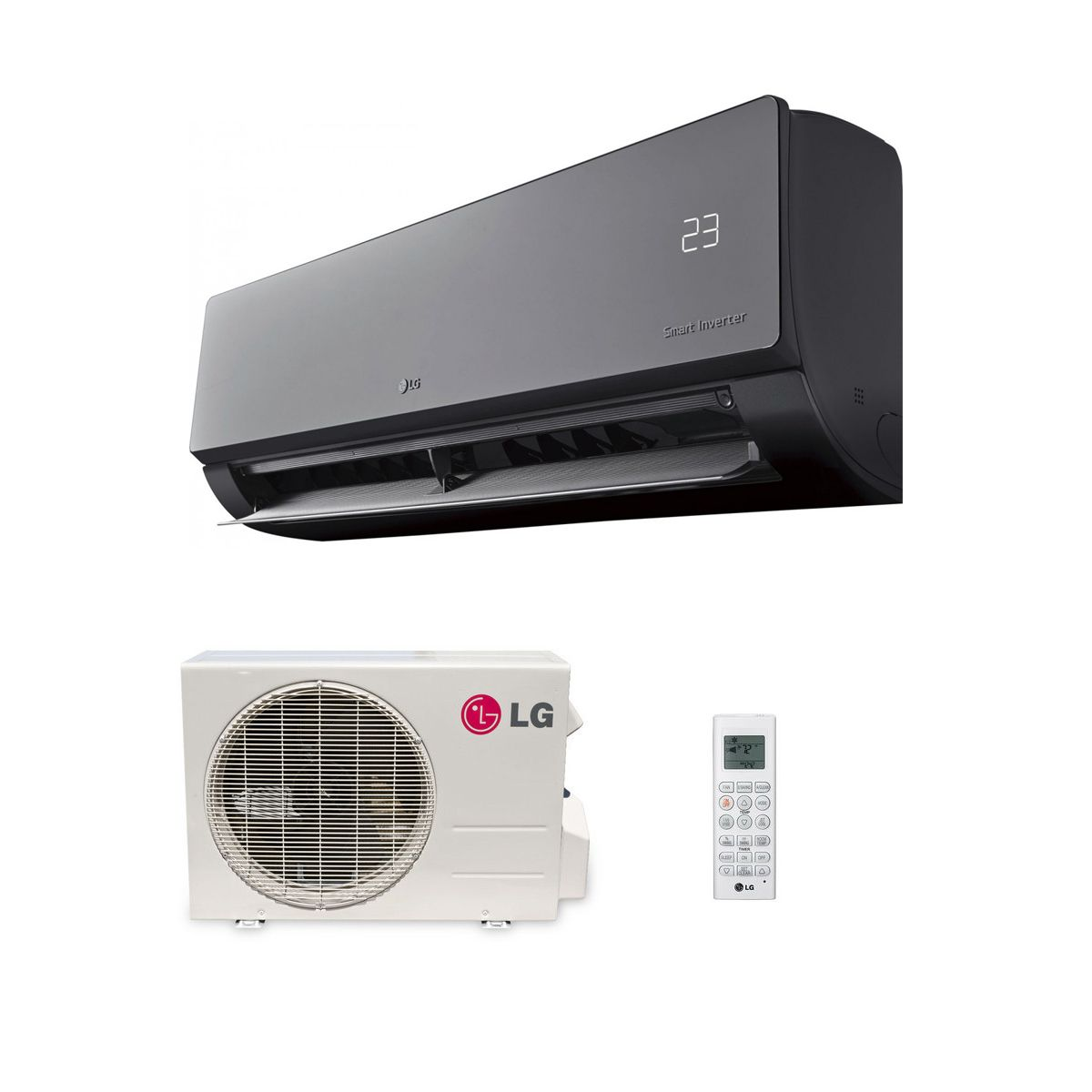 Air Conditioning Art Cool Mirror AM18BP.NSK 5kw/18000Btu Wall Mounted Heat  Pump Inverter A++ 240V~50Hz