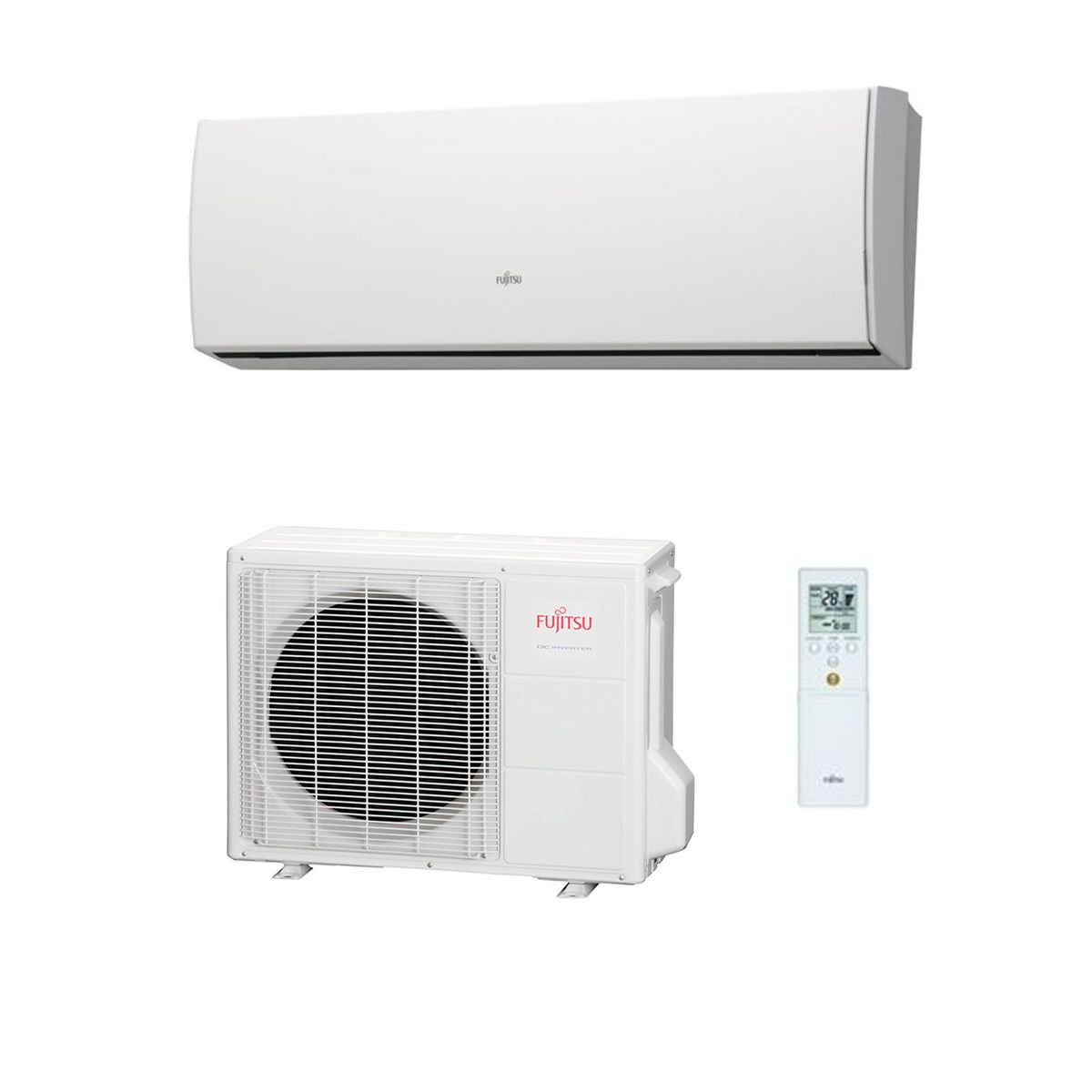 Fujitsu Air Conditioning Asyg14luca High Cop Wall Mounted
