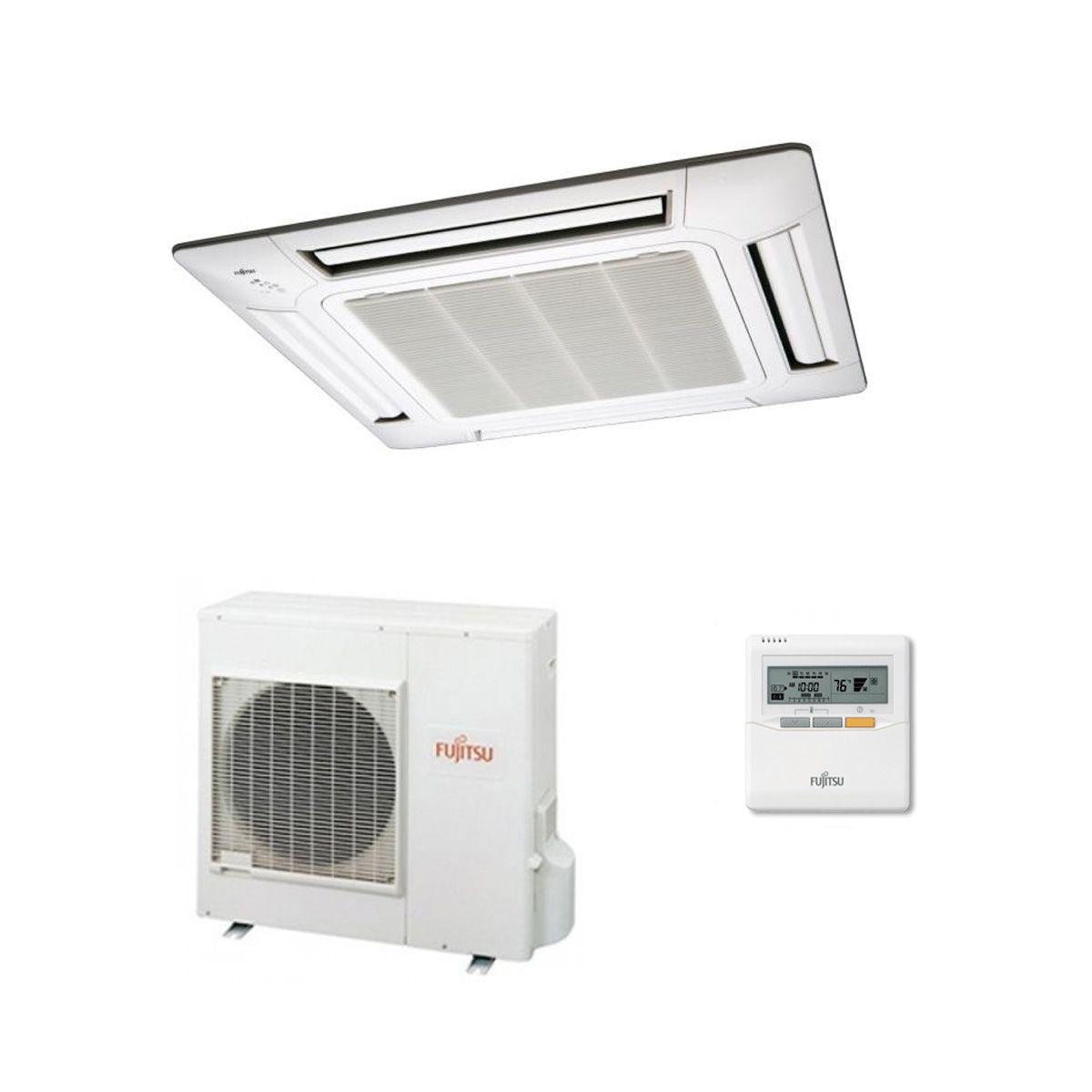fujitsu air conditioning auyg30lrle 4-way flow cassette heat pump