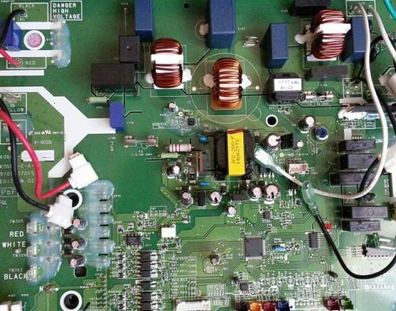 Fujitsu Air Conditioning Spare Part Printed Circuit board 9707560046  CONTROLLER ASSY For AOY_LMAKL