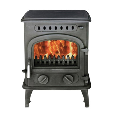 Gurney 4kw Multi Fuel Solid Fuel Or Wood Stove Eh1454 With Ceramic