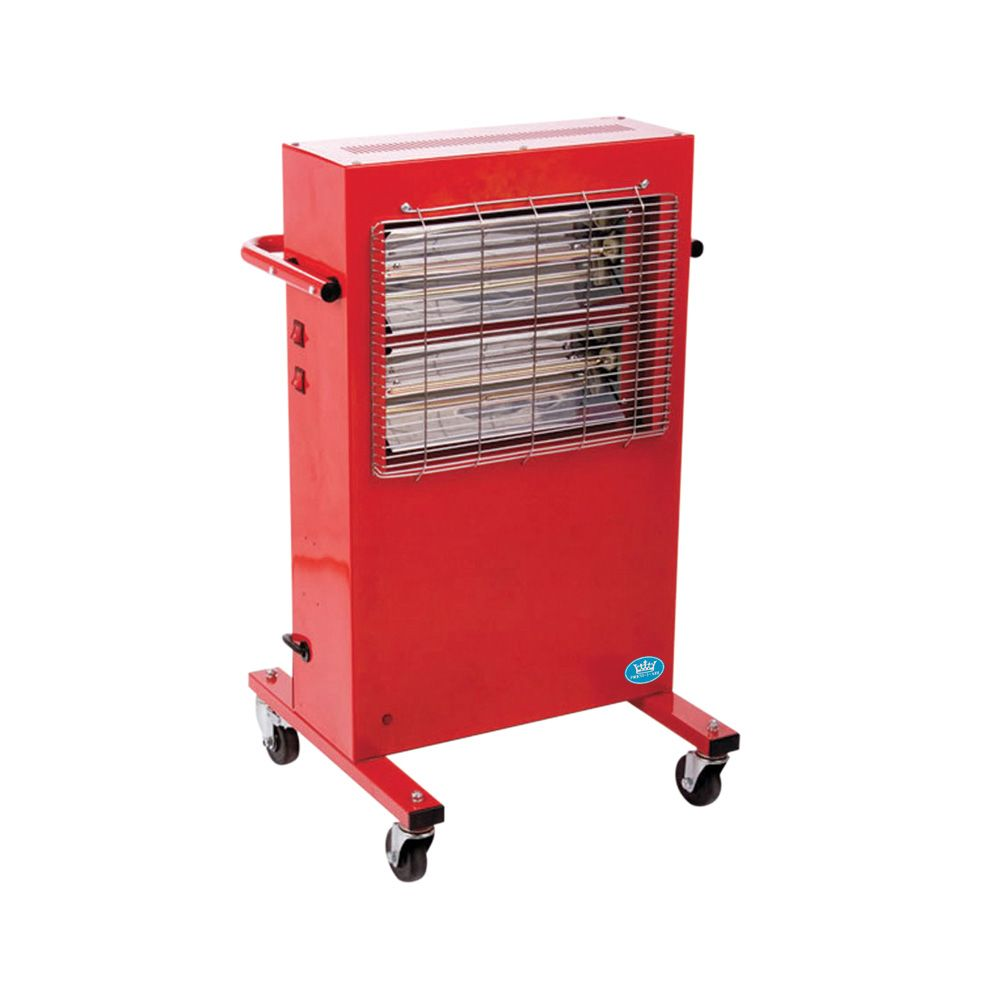 Heavy Duty Construction Portable Commercial Halogen Heater EH0209 2Kw/7000Btu 110V~50Hz