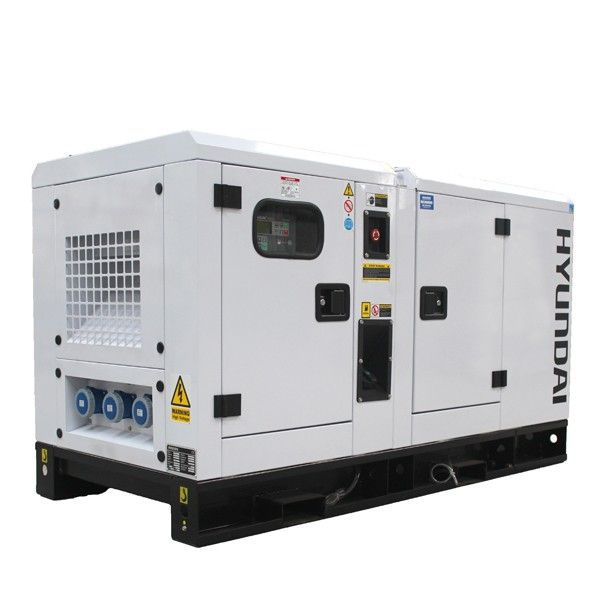 Hyundai Dhy18ksem 17 6kw 20kva Diesel Housed Weather Proof