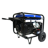 Hyundai HY9000LEk 6.6kW/8.25kVA Wheelbarrow Frame Electric Start Petrol Generator 115/240V~50Hz