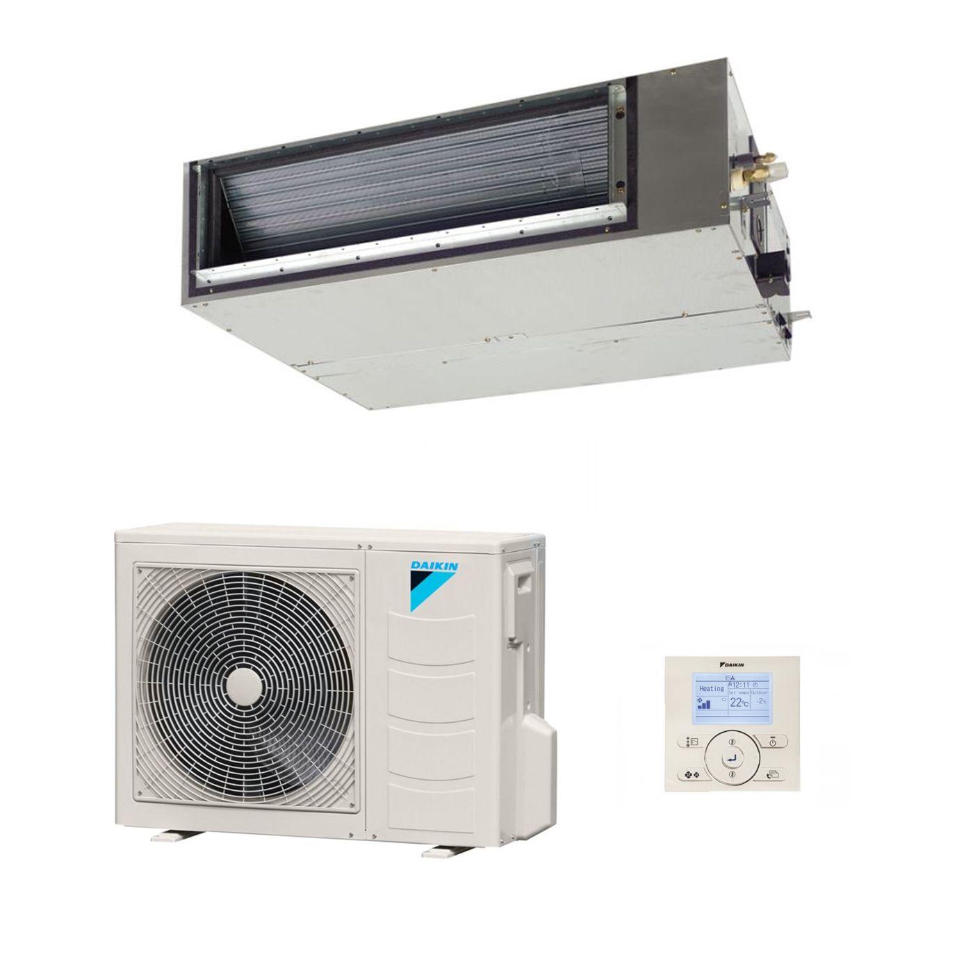 Daikin Slim Ducted Air Conditioning Unit Inverter Heat