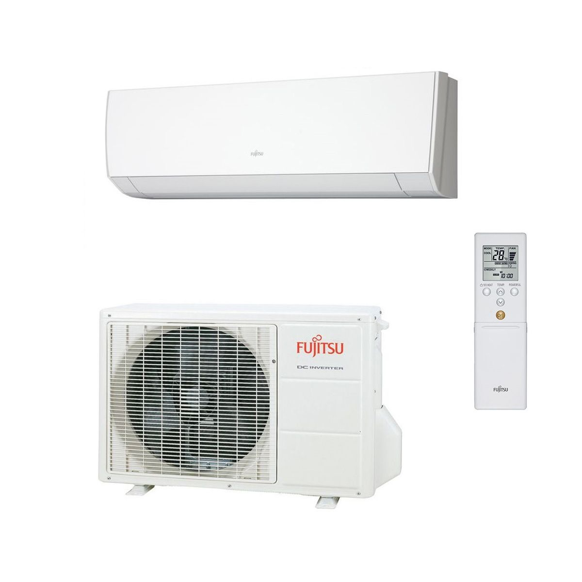 Installation Pack Fujitsu Air Conditioning Asyg12lmce Wall