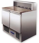 King KPS900 Double Door Prep Counter