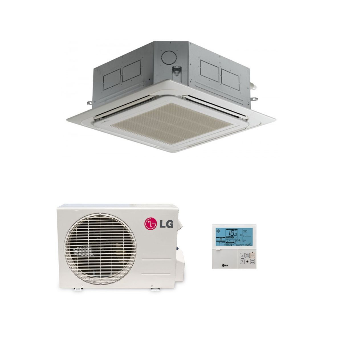 Lg Air Conditioning Ct12 Nr2 Compact Cassette Heat Pump