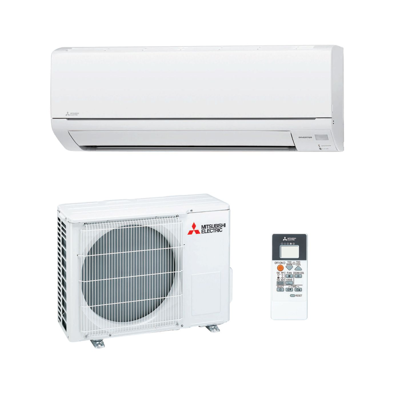 Mitsubishi Electric Air Conditioning MSZ DM25VA Wall Mounted 2.5Kw/9000Btu  Inverter Heat Pump A+ 240V~50Hz