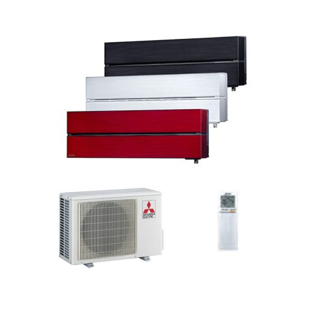 mitsubishi electric air conditioning msz ln25vg 2 5kw 9000btu r32 inverter heat pump wall. Black Bedroom Furniture Sets. Home Design Ideas