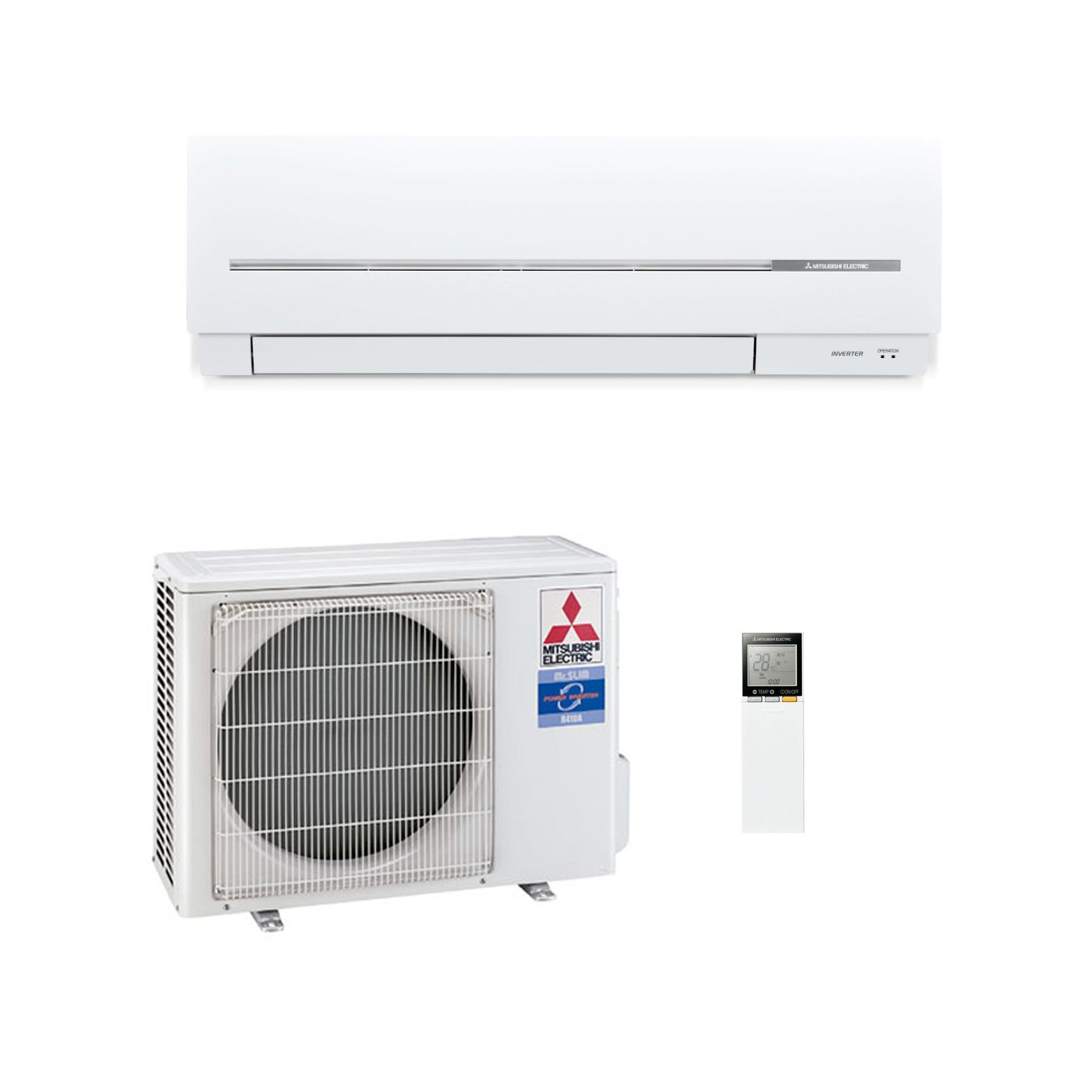 Mitsubishi Electric Air Conditioning MSZ SF35VE Wall Mounted 3.5Kw/12000  Btu Inverter Heat Pump A++ 240V~50Hz