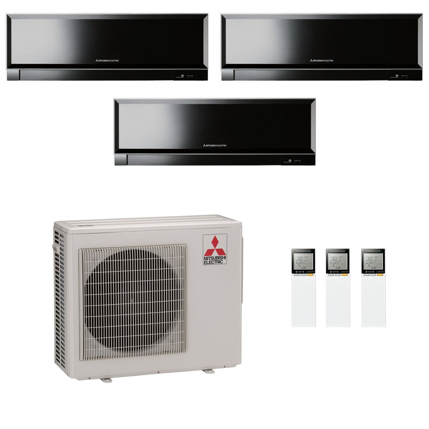 Mitsubishi Room Air Conditioner Reviews: Mitsubishi Electric Air Conditioning MXZ-4D83VA 2 X 3.5Kw