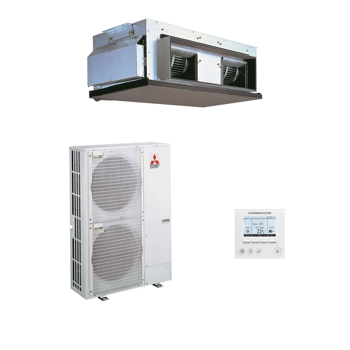 Mitsubishi Electric Air Conditioning Pea Rp250gaq Ducted
