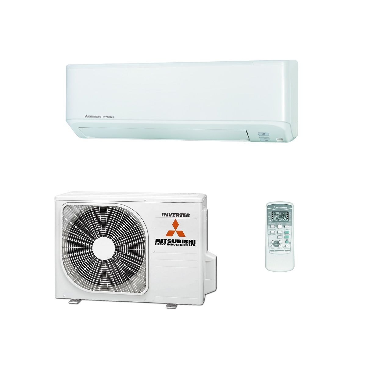 mitsubishi heavy industrial air conditioning srk45zmp s wall mounted installation pack. Black Bedroom Furniture Sets. Home Design Ideas