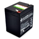 MK Powered ES5-12 AGM Deep Cycle Battery 12VDC 5Ah