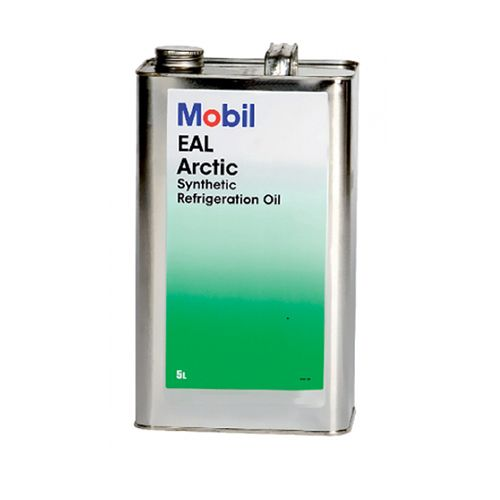 Mobil Arctic 100 EAL 100 Refrigeration Oil Lubricant 20 Litre 4 x 5 Litre Cans