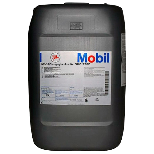 Mobil Gargoyle Arctic SHC-226E SHC226E Fully Synthetic Refrigeration Oil Lubricant 20 Liters