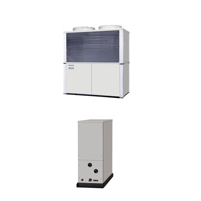 Panasonic Air Conditioning ECOi Water Chiller Heat Exchanger Heatpump 75Kw/250000Btu 415V~50Hz