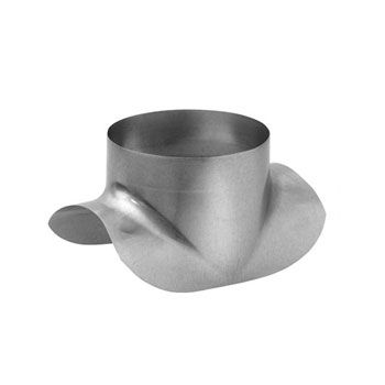 Pressed Duct Saddle Fitting For Circular Spiral Ducting