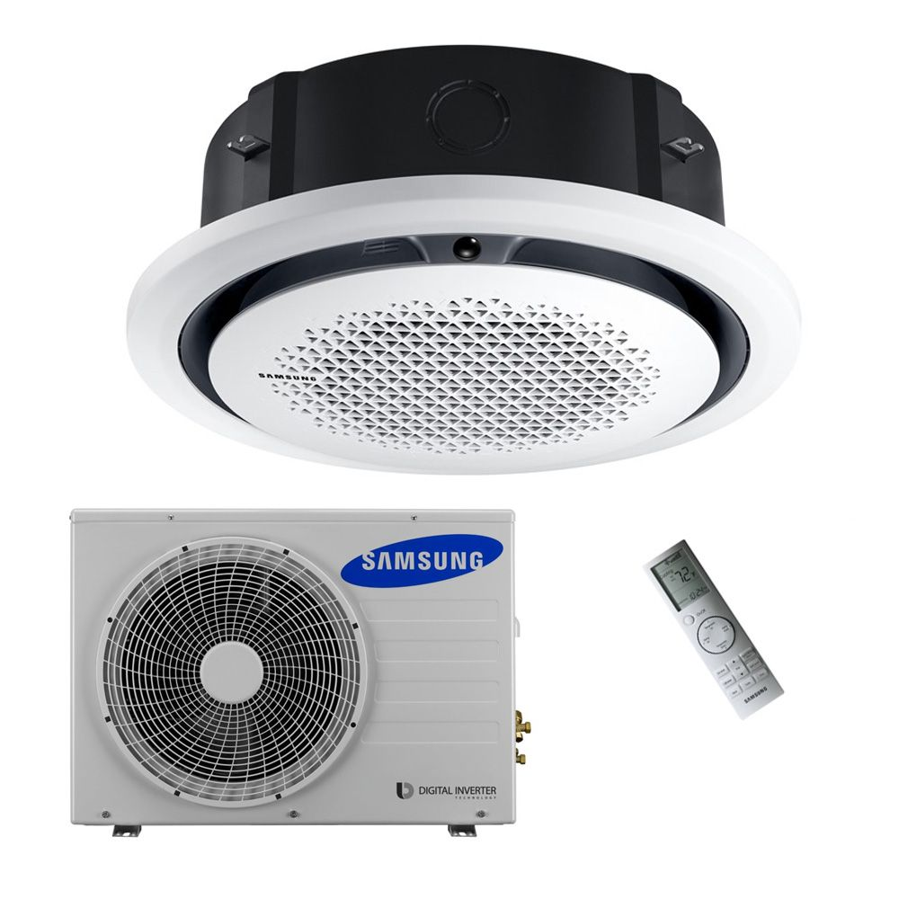 Samsung Air Conditioning Ac120kn4dkh 360 Degree Round