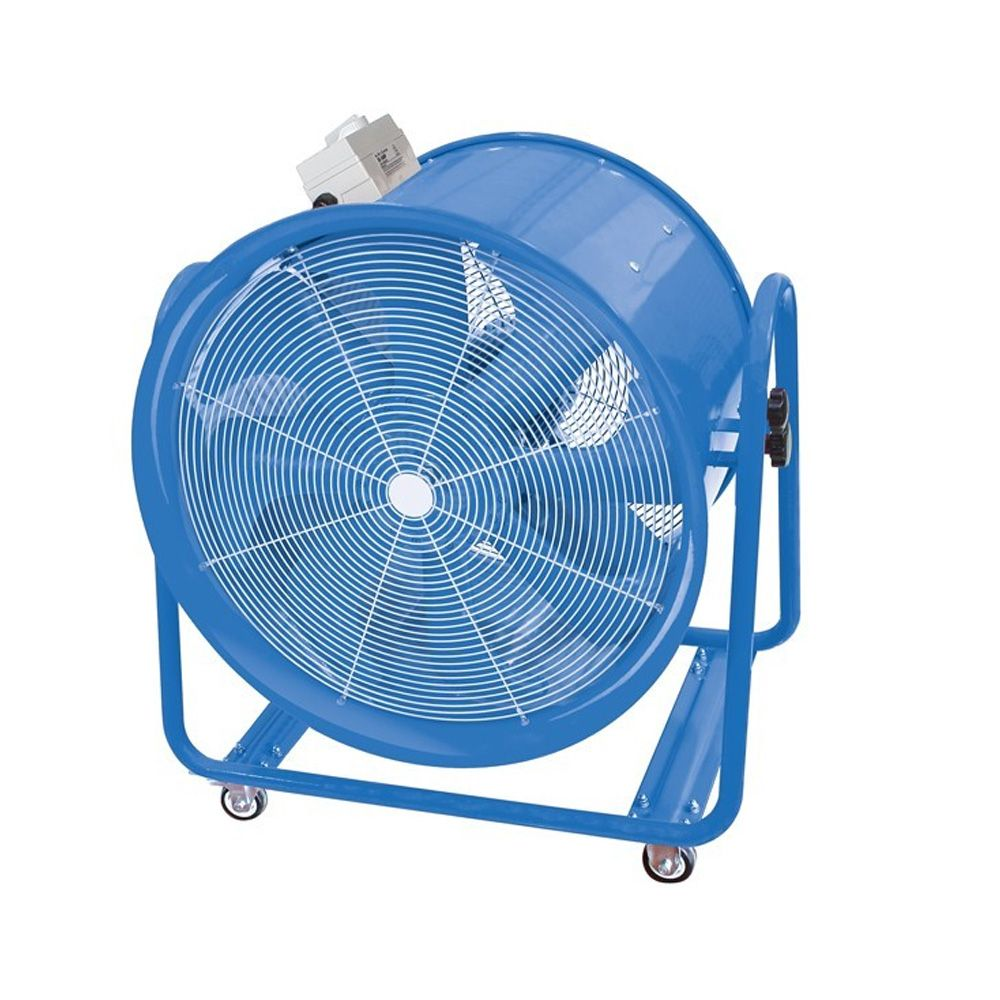 Vf600 600mm Industrial High Velocity Portable Fan For Dust