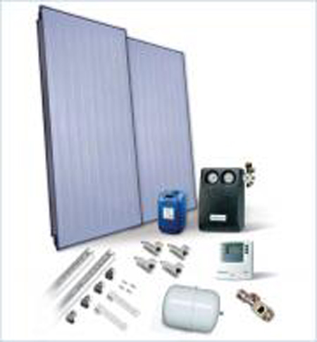 Worcester Solar FKC-1S 2 Panel in Roof Installation Package
