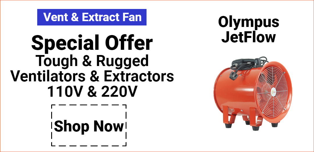 Olympus Jetflow Extractor and Ventilator Discounted Offer