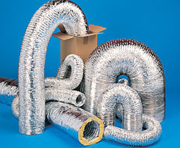 Un-insulated Flexible Ducting is ideal for use in high, medium and low pressure air conditioning and extract/fresh air systems where a quality un-insulated flexible foil type ducting is required.